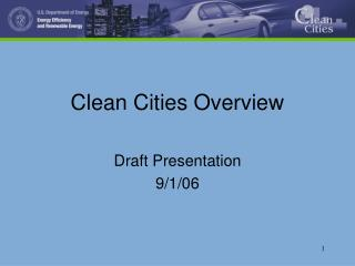 Clean Cities Overview