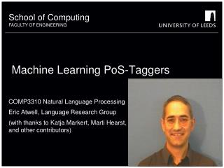 Machine Learning PoS-Taggers