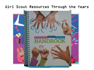 Girl Scout Resources Through the Years