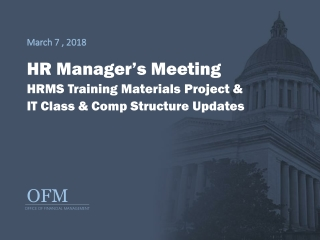 HRMS Implementation Project