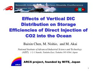 ARCS project, founded by MITE, Japan