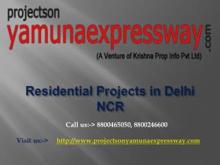 New Residential Projects in Delhi NCR