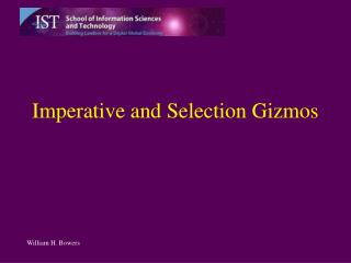 Imperative and Selection Gizmos