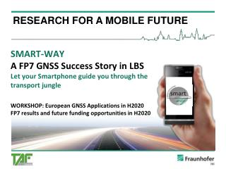 RESEARCH FOR A MOBILE FUTURE