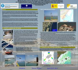 Monitoring Sea Level by Tide Gauges and GPS at Barcelona and Estartit Harbours
