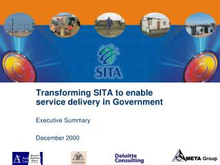 Transforming SITA to enable service delivery in Government