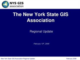The New York State GIS Association