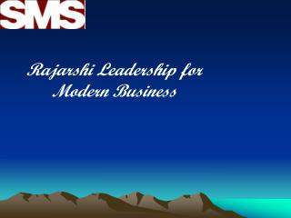 Rajarshi Leadership for Modern Business
