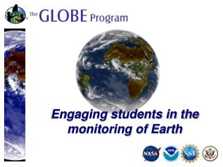 Engaging students in the monitoring of Earth