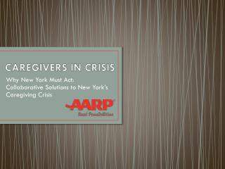 CAREGIVERS IN CRISIS