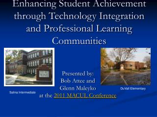 Enhancing Student Achievement through Technology Integration and Professional Learning Communities