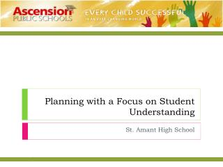 Planning with a Focus on Student Understanding