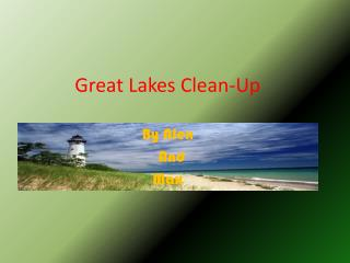 Great Lakes Clean-Up
