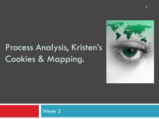 Process Analysis, Kristen's Cookies & Mapping.