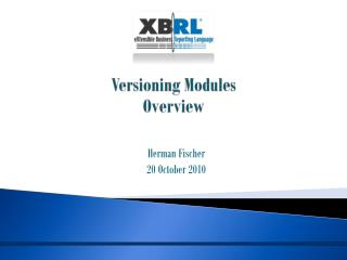 Versioning Modules Overview