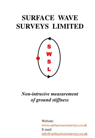 SURFACE  WAVE  SURVEYS  LIMITED