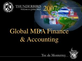 Welcome to Global MBA