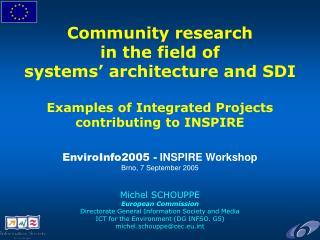 Community Research EU Framework Programmes