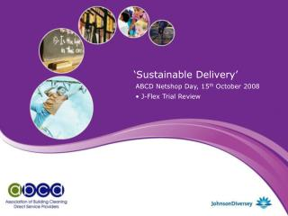 'Sustainable Delivery'