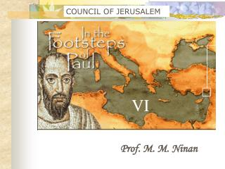 COUNCIL OF JERUSALEM
