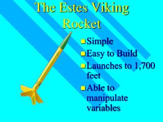 The Estes Viking Rocket