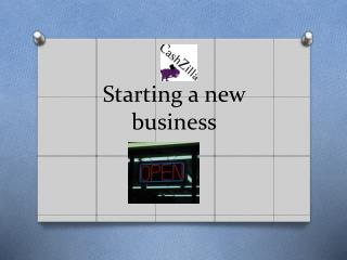 Guide on starting your own business