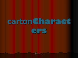 carton Characters