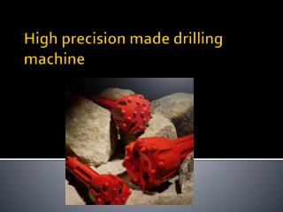 DTH Bit Manufactured By Laxmi Rock Drills