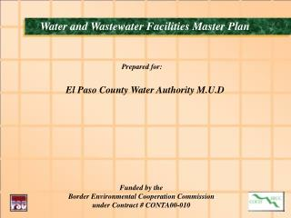 Water and Wastewater Facilities Master Plan