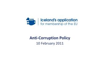 Anti-Corruption Policy 10 February 2011
