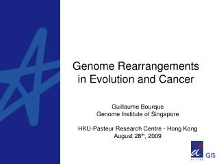 Genome Rearrangements in Evolution and Cancer