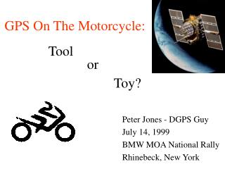 GPS On The Motorcycle: