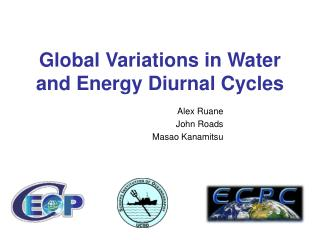 Global Variations in Water and Energy Diurnal Cycles