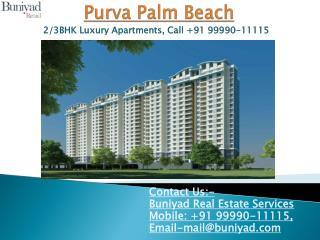 Purva Palm Beach - Apartment for sale in Bangalore