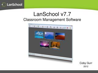 LanSchool v7.7 Classroom Management Software