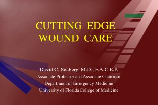 CUTTING  EDGE WOUND  CARE