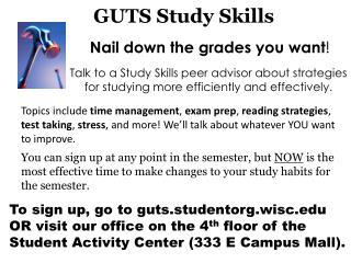 GUTS Study Skills