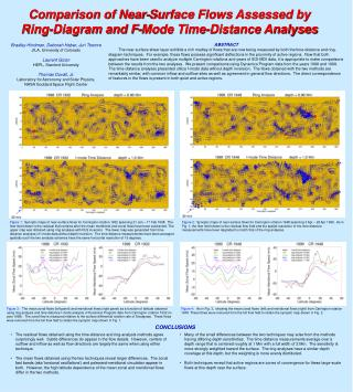 Comparison of Near-Surface Flows Assessed by Ring-Diagram and F-Mode Time-Distance Analyses