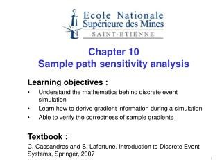 Chapter 10 Sample path sensitivity analysis