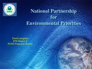 National Partnership  for  Environmental Priorities