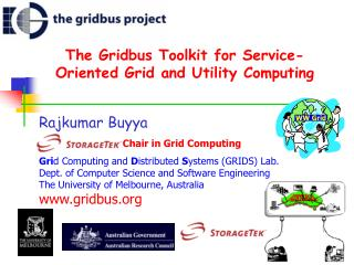 The Gridbus Toolkit for Service-Oriented Grid and Utility Computing