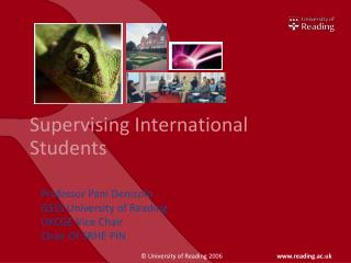 Supervising International Students