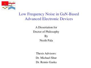 Low Frequency Noise in GaN-Based Advanced Electronic Devices