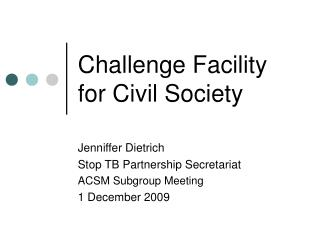 Challenge Facility for Civil Society