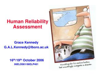 Human Reliability Assessment