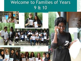 Welcome to Families of Years  9 & 10