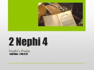 2 Nephi 4