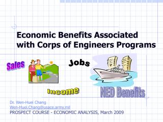 Economic Benefits Associated with Corps of Engineers Programs