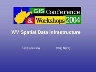 WV Spatial Data Infrastructure