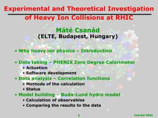 Experimental and Theoretical Investigation of Heavy Ion Collisions at RHIC